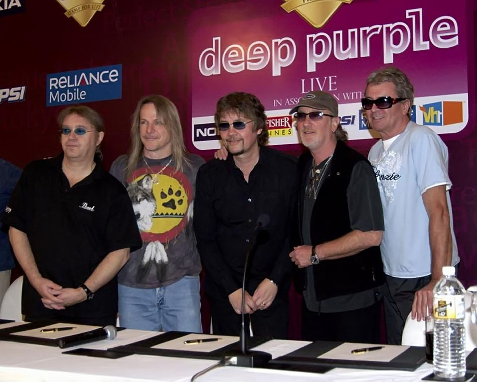 Deep Purple - В Индии 2007